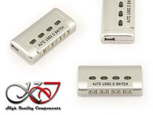 Case Da Festa USB/Interruttore USB2.0 - 4 Porte Auto
