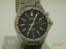 seiko kinetic mens titanium watch SKA493P1 rrp £299
