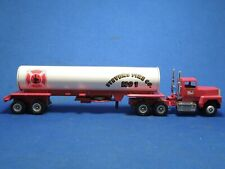 Vintage Winross Stevens Fire Co No 1 75th Anniversary Die Cast Tank Truck Model