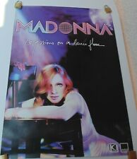 MADONNA CONFESSIONS ON A DANCE FLOOR ORIGINAL POSTER WEA DISCOS COLOMBIA 2005