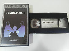 STEPHEN KING PHANTASMA II SALEM´S LOT TERROR VHS TAPE COLECCIONISTA CASTELLANO