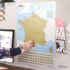 Carte de France à Gratter (NEUF) - Cadeau Maestro