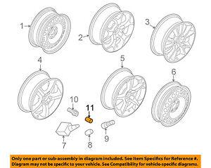 Saturn GM OEM 2008 Astra Wheel-Wheel Bolt Cap 90343694