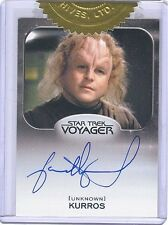 Star Trek Voyager Heroes & Villains Jason Alexander Archive Box Autograph Card!