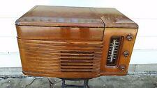 Vintage Philco Radio Record Player Wood Case, Model 46-1203