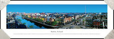 Dublin Ireland City Skyline Halfpenny Bridge Framed Poster Picture II