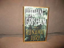 The Runaway Jury by John Grisham, First Edition 1996, Very Good Condition