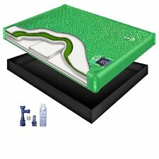 100% Waveless Waterbed Mattress Kit w/ Accessories