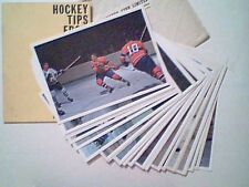 1963-64 TORONTO STARS IN ACTION COMPLETE SET OF 42