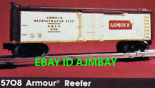 LIONEL 5708, 9418, 9419, 9434, 9444, 9462 & 9627 FREIGHT BOXCARS FROM 1980'S NEW