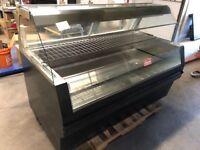 "Hobart HHFC6-49 Hot Case 71"" Self Serve Hot Food Chicken Warmer 5650 Watts"