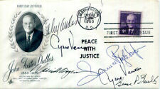 AUTHENTIC US Secretaries of State signed FDC