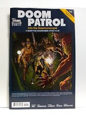 Doom Patrol #12 Cover A (DC Comics 2018) Dungeons & Dragons module cover