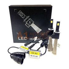 NEW Fanless Canbus 880 881 893 33W LED Headlight Kit Xenon 6000K White Bulbs