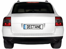 Porsche 955 Cayenne 2003-2006 Dectane Brand LED Red & Smoked Taillights New