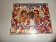 CD  Mr.President  – I Give You My Heart