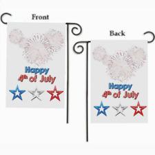"4TH OF JULY FIREWORKS STARS PATRIOTIC YARD GARDEN FLAG 12"" X 18"""