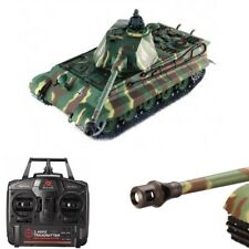 3888-1 Heng Long German Tiger RC Panzer 1:16 mit Rauch & Sound Battle Tank