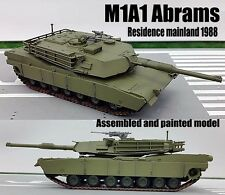 US MBT M1A1 Abrams Residence mainland 1988 tank 1:72 Easy Model assembled