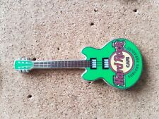 Hard Rock Cafe Pin SURFERS PARADISE Core Guitar Green 3 String