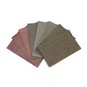 Diamond Sandpaper Jade Sanding Cloth Electroplated Abrasive Emery for Carving