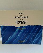 Eau de Rochas Pour Homme Coffret Voyage Travel Kit 1.0 oz EDT, 1.7 oz Gel & ASB