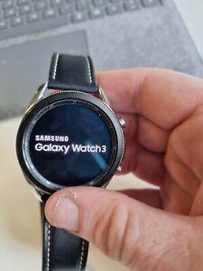 Samsung Galaxy Watch 3 LTE Bluetooth Wi-Fi Mystic Silver 45mm Leather