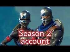 Season 2 Battlepass random account[Black Knight and Floss Hidden]