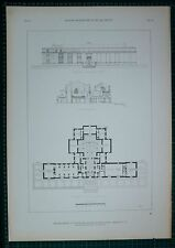 1920s ARCHITECTURE PRINT NATIONAL ACADEMY ARTS SCIENCE RESEARCH WASHINGTON DC
