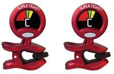 Snark Tuner TWO PACK ST-2 Super Tight All Instrument Tuner w Metronome