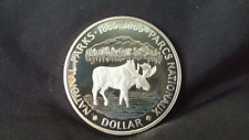 1985 Proof Silver Dollar - National Parks - Coin Only