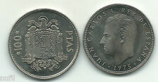 SPAIN Juan Carlos I 100 pesetas 1975 * 76  S/C UNC