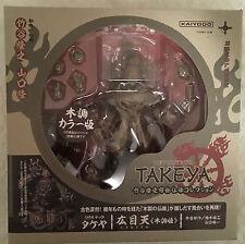 Revoltech Buddhist Statue Collection Takeya Komokuten No.002EX Wood ver.