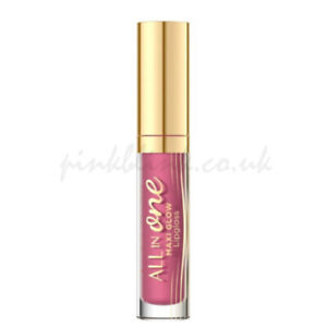 Eveline All in One Maxi Glow Lipgloss 4.5ml No. 115 Pink Nude Wet Look Effect