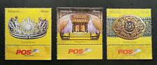 Royal Institution Malaysia 2011 Headgear King Culture Crown (stamp w logo) MNH