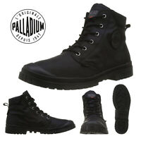 Palladium Mens Pampa Slim Cuff Canvas SP20 Waterproof Mid Top Walking Boot Shoes