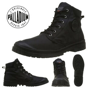 Palladium Mens Pampa Slim Cuff Canvas SP20 Waterproof Mid Top Walking Boot Shoes