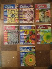 American Quilter Magazine 7 issues VGC