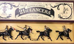 Britains: Boxed Set 8807 - 21st Lancers, Sudan Campaign. 54mm Metal Models