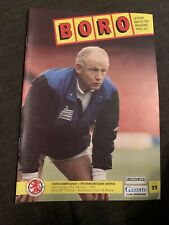 1992 Middlesbrough V Peterborough United Football Programme LCUP