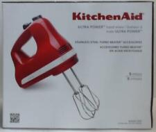 NEW KitchenAid KHM512ER Ultra Power 5-Speed Hand Mixer, Empire Red $89.99