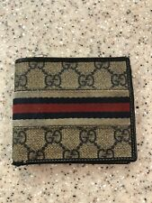 Authentic Gucci mens wallet Pre Owned
