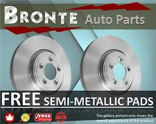 2000 2001 2002 GMC Safari Disc Brake Rotors and Free Pads Front RWD