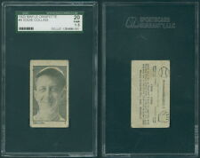 (41693) 1923 Maple Crispette V117 Eddie Collins White Sox SGC 20 Fair 1.5 GSC