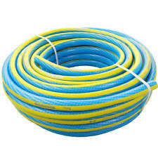 (1 €/ M) 1/2 Inch Water Hose pro Blue/Yellow Garden Hose 10, 20, 50 Meter M