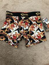 Cheers TV Show Performance Boxer Briefs Size Medium 32-34 Black New Poly Spandex