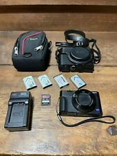 Sony RX100 III 20.1 MP camera w/case, 32GB SD card, charger & batteries