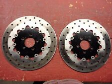 Harley-Davidson Set of Two Front Brake Rotors- Less than 200 miles on them!
