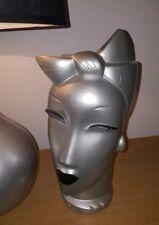 Lindsey B-balkweill Art Deco Moderno Escultura De Plata Muy Rara Vintage