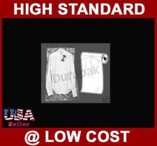20X3X54 1 Roll of 222 Clear Plastic Gusset Garment Bag Bags Dry Clean Shop Etc